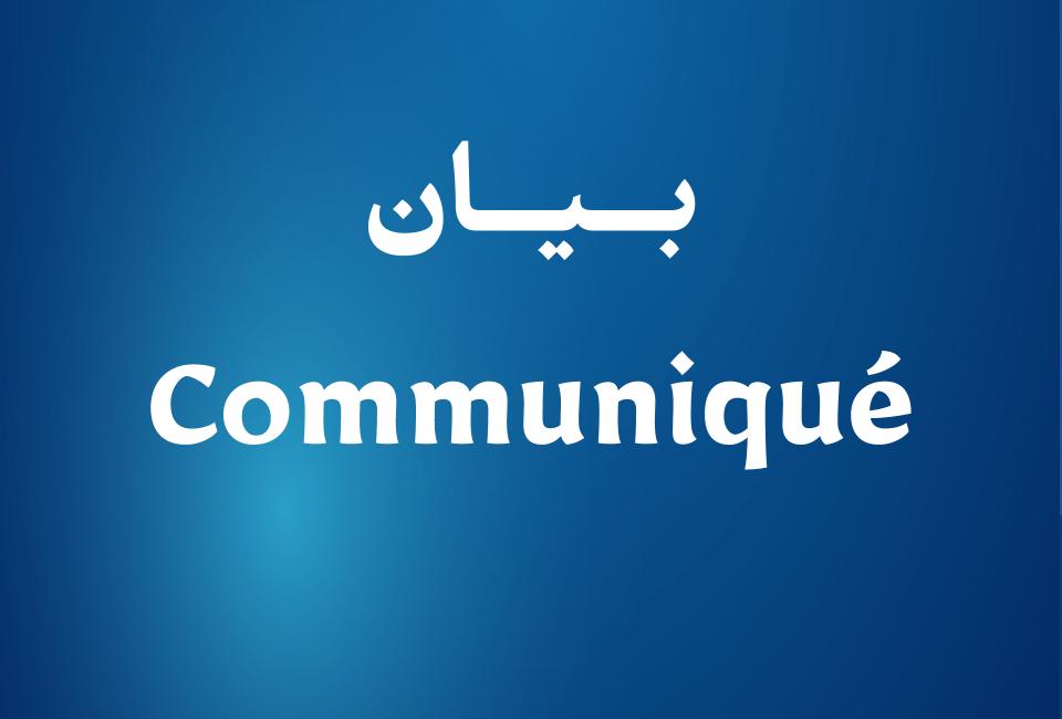 Communiqué 08-10-2019