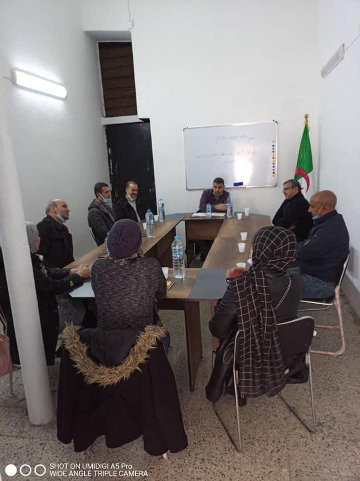 لقاء تنسيقية جيل جديد بولاية وهران